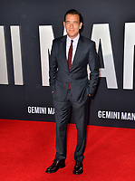 "LOS ANGELES, USA. October 07, 2019: Clive Owen at the premiere of ""Gemini Man"" at the TCL Chinese Theatre, Hollywood.<br /> Picture: Paul Smith/Featureflash"