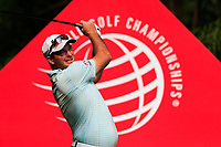 Ryan Fox (NZL) on the 9th tee during the 2nd round at the WGC HSBC Champions 2018, Sheshan Golf CLub, Shanghai, China. 26/10/2018.<br /> Picture Fran Caffrey / Golffile.ie<br /> <br /> All photo usage must carry mandatory copyright credit (&copy; Golffile | Fran Caffrey)