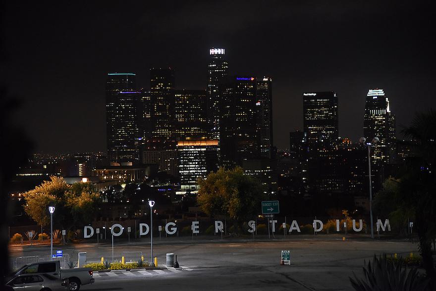 Los Angeles Dodgers vs the Washington Nationals Monday, August 10, 2015 at Dodger Stadium in Los Angeles, California. Photo by Jon SooHoo/©Los Angeles Dodgers,LLC 2015
