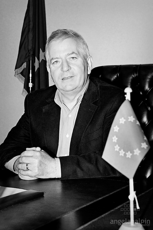 Charlie McCreevy. European Commissioner