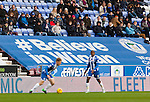 Wigan Athletic 1 Shrewsbury Town 0, 21/11/2015. DW Stadium, League One. The DW Stadium. Wigan Athletic earned a narrow 1-0 at home to Shrewsbury Town. Wigan competed in the Premier League from 2005 to 2013. They won the 2013 FA Cup. The club also embarked on its first European campaign during the 2013–14 UEFA Europa League. Believe in Wigan advertising banner in the DW Stadium. Photo by Paul Thompson
