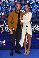 Marvin Humes, Rochelle Humes<br /> 'Global Awards 2019' at the Hammersmith Palais in London, England on March 07, 2019.<br /> CAP/PL<br /> &copy;Phil Loftus/Capital Pictures