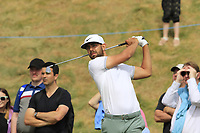 Erik Van Rooyen (RSA) tees off the 8th tee during Friday's Round 2 of the 2018 Dubai Duty Free Irish Open, held at Ballyliffin Golf Club, Ireland. 6th July 2018.<br /> Picture: Eoin Clarke | Golffile<br /> <br /> <br /> All photos usage must carry mandatory copyright credit (&copy; Golffile | Eoin Clarke)