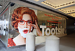 """Theatre Marquee for Broadway's """"Tootsie"""" The Musical at the New York Mariott Marquis Hotel on March 13, 2019 in New York City."""
