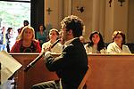 MITO per la citta, appuntamenti musicali itineranti per Settembre Musica. Il gruppo Les Hautbois nella Cappella interna dell'Ospedale Maria Vittoria.
