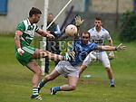 Newtown Blues Niall Costello St Patrick's Evan White. Photo:Colin Bell/pressphotos.ie