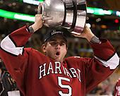 Clay Anderson (Harvard - 5) - The Harvard University Crimson defeated the Boston University Terriers 6-3 (EN) to win the 2017 Beanpot on Monday, February 13, 2017, at TD Garden in Boston, Massachusetts.