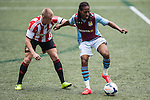 Aston Villa vs Sunderland during the Day 3 of the HKFC Citibank Soccer Sevens 2014 on May 25, 2014 at the Hong Kong Football Club in Hong Kong, China. Photo by Xaume Olleros / Power Sport Images