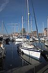 Urban redevelopment of docks, Ipswich Wet Dock, Suffolk, England