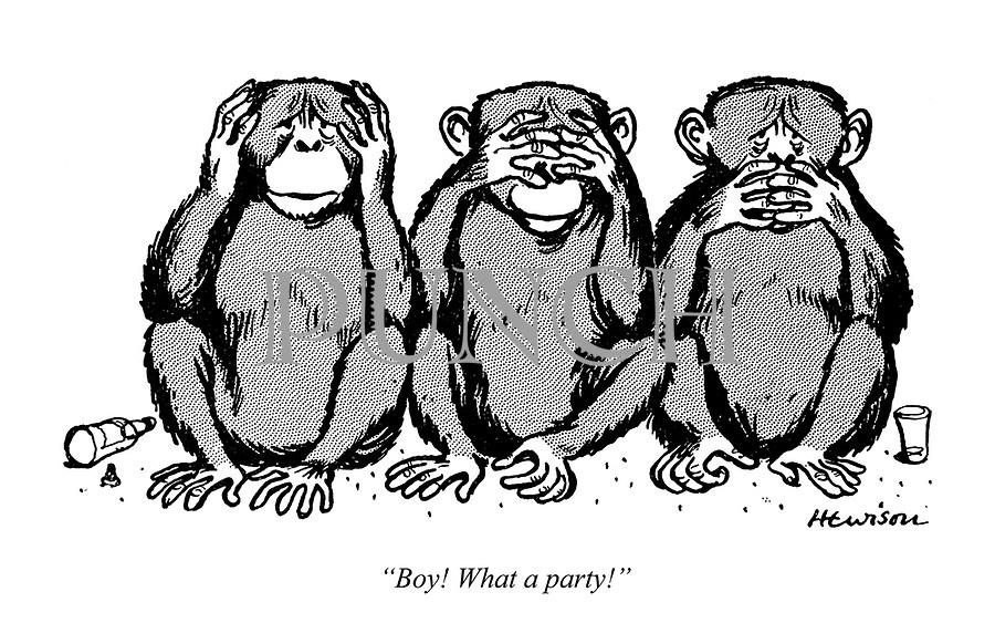 """Boy! What a party!"""