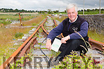 "Michael Whitehouse is republishing his fathers book ""The Tralee and Dingle Railway"" which was written by his father Patrick B Whitehouse"