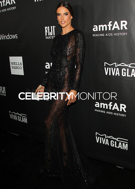 HOLLYWOOD, LOS ANGELES, CA, USA - OCTOBER 29: Alessandra Ambrosio arrives at the 2014 amfAR LA Inspiration Gala at Milk Studios on October 29, 2014 in Hollywood, Los Angeles, California, United States. (Photo by Celebrity Monitor)