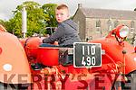 Kilflynn Rally : Pictured at the Kilflynn Tractor rally on Saturday evening last was Conor Brennan from Kilflynn.
