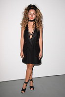 Ella Eyre<br /> at the Ashish catwalk show as part of London Fashion Week SS17, Brewer Street Car Park, Soho London<br /> <br /> <br /> &copy;Ash Knotek  D3155  19/09/2016