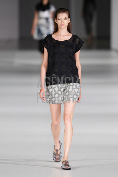 Miriam Ponsa<br /> Barcelona Fashion Week<br /> July 2013<br /> RTW Spring Summer 2014