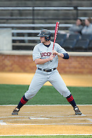 Bobby Melley (11) of the UConn Huskies at bat against the Wake Forest Demon Deacons at Wake Forest Baseball Park on March 17, 2015 in Winston-Salem, North Carolina.  The Demon Deacons defeated the Huskies 6-2.  (Brian Westerholt/Four Seam Images)