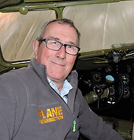 BNPS.co.uk (01202 558833)<br /> Pic: NikColeman/PBS/BNPS<br /> <br /> Plane Resurrection historian Ian McLachlan has researched the hybrid aircraft for a new PBS America documentary.<br /> <br /> Remarkable photos revealing how the Germans tried to create a super plane during WW2 by combining a captured Spitfire's frame with a Daimler Benz engine have been revealed.<br /> <br /> A new documentary series called Plane Resurrection by PBS America historian Ian McLachlan reveals how the Nazi's stuck their impressive power plant from a Bf 109 fighter on the body of a captured Spitfire V b that had crash-landed on the occupied island of Jersey in November 1942.<br /> <br /> It was piloted by German born Free French pilot Lt Bernard Scheidhauer, who had joined the RAF's 101 Sqn to fight against his homeland. <br /> <br /> While the hybrid plane looked ungainly, it was actually found during testing to out perform both the German and British fighters.<br /> <br /> However it was the only one ever made, mainly because there were not enough captured Spitfires available for the Germans to mass-produce. <br /> <br /> After capture the unfortunate Scheidhauer was sent to Stalag Luft III, where he took part in the Great Escape, pairing up with its mastermind Squadron Leader Roger Bushell, after recapture they were notoriously murdered by the Gestapo.