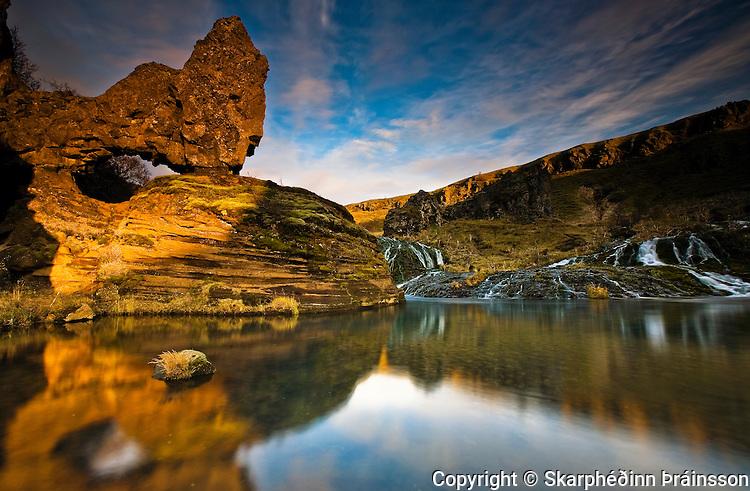 Gjáin in Þjórsárdalur, south Iceland