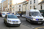 Siege at Drogheda Courthouse..(Photo credit should read Jenny Matthews www.newsfile.ie)....This Picture has been sent you under the conditions enclosed by:.Newsfile Ltd..The Studio,.Millmount Abbey,.Drogheda,.Co Meath..Ireland..Tel: +353(0)41-9871240.Fax: +353(0)41-9871260.GSM: +353(0)86-2500958.email: pictures@newsfile.ie.www.newsfile.ie.