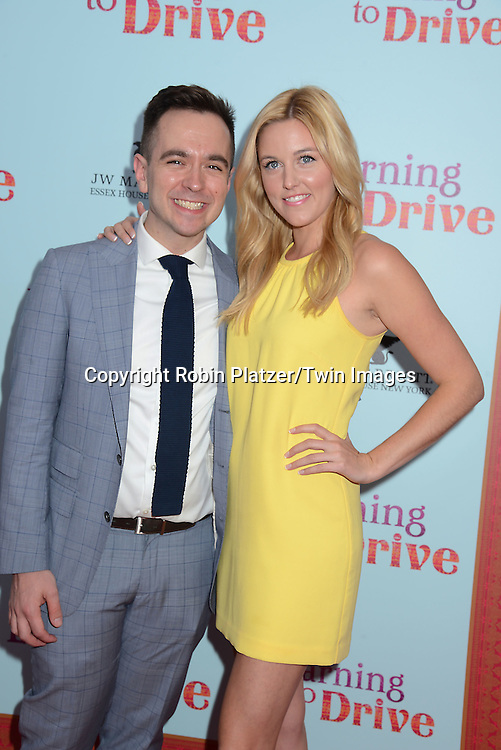 Taylor Louderman and guest attends the NewYork VIP Premiere of &quot;Learning to Drive&quot;<br /> on August 17, 2015 at The Paris Theatre in New York City, New York, USA. <br /> <br /> photo by Robin Platzer/Twin Images<br />  <br /> phone number 212-935-0770