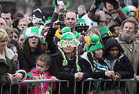17/03/2011.Crowds.during the St. Patrick's Day festival in Dublin's City Centre..Photo: Gareth Chaney Collins