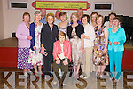 SCHOOL REUNION: Past pupils from Aughacasla National School had a reunion in the Clubrooms, Castlegregory on Friday night. Front seated was teacher Mrs. Maureen Sayers, from l-r were: Eilis Ni Riordain (Bruton), Maire Ni Flaitheartaig, Maire Ni Seada (McHugh), Maire ni Curtain (Loblenz), Maire Aine Ni Seada (Weir), Eilin Ni Concubhair (Griffin), Imelda Ni hIlleard (O'Sullivan), Aine Ni Donnacada (Harrington). Back l-r were: Sean Hilliard, Padraig O'Sheada, Maire Ni Duinn (O'Shea), Michael O'Concubhair, Cait Ni Mhurcu (Hutchinson)