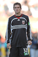 DC United defender Bobby Boswell (32) during the presentation of the teams. The Chicago Fire defeated DC United 3-2, Sunday, October 15, 2006, at RFK Stadium.