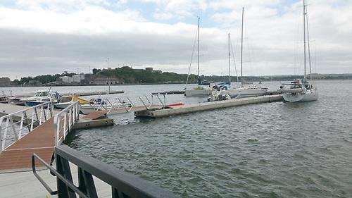 Cobh Marina pontoons