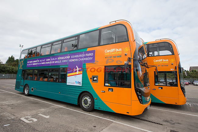 Cardiff Bus<br /> 24.09.15<br /> &copy;Steve Pope - FOTOWALES