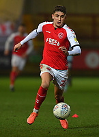 Fleetwood Town's Harrison Biggins<br /> <br /> Photographer Dave Howarth/CameraSport<br /> <br /> Leasing.com Trophy Northern Section Round Three - Fleetwood Town v Accrington Stanley - Tuesday 7th January 2020 - Highbury Stadium - Fleetwood<br />  <br /> World Copyright © 2018 CameraSport. All rights reserved. 43 Linden Ave. Countesthorpe. Leicester. England. LE8 5PG - Tel: +44 (0) 116 277 4147 - admin@camerasport.com - www.camerasport.com