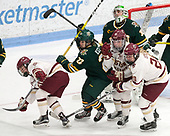 Haley McLean (BC - 13), Sarah Kelly (UVM - 22), Madison Litchfield (UVM - 30), Ryan Little (BC - 20), Erin Connolly (BC - 15), Casey Leveillee (UVM - 5) -  The Boston College Eagles defeated the University of Vermont Catamounts 4-3 in double overtime in their Hockey East semi-final on Saturday, March 4, 2017, at Walter Brown Arena in Boston, Massachusetts.