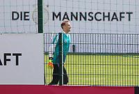 Torwart Manuel Neuer (Deutschland Germany) auf dem nicht einsehbaren Nebenplatz - 26.05.2018: Training der Deutschen Nationalmannschaft zur WM-Vorbereitung in der Sportzone Rungg in Eppan/Südtirol