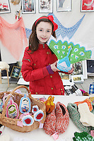 NO REPRO FEE. 6/3/2011. RUSSIAN CULTURAL FESTIVAL. Kristina Moickivi aged 9 is pictured at the Festival of Russian Culture family day at Cows Lane , Temple Bar, Dublin. Picture James Horan/Collins Photos