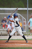 Yohandy Morales (14) during the WWBA World Championship at the Roger Dean Complex on October 13, 2019 in Jupiter, Florida.  Yohandy Morales attends G. Holmes Braddock High School in Miami, FL and is committed to Miami.  (Mike Janes/Four Seam Images)