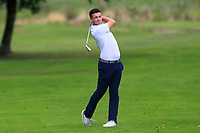 Keith Fitzpatrick (Kinsale) on the 1st fairway during the AIG Barton Shield Munster Final 2018 at Thurles Golf Club, Thurles, Co. Tipperary on Sunday 19th August 2018.<br /> Picture:  Thos Caffrey / www.golffile.ie<br /> <br /> All photo usage must carry mandatory copyright credit (© Golffile   Thos Caffrey)