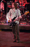 Pictured: David Chapple 20 March 2004<br /> Re: Love with Arthur Lee at the Brycheiniog Theatre in Brecon, Powys, Wales, UK