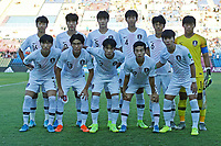 2nd November 2019; Kleber Andrade Stadium, Cariacica, Espirito Santo, Brazil; FIFA U-17 World Cup Brazil 2019, Chile versus Korea Republic; Players of Korea Republic poses for oficial photo