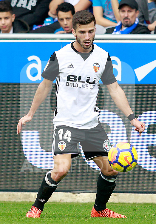 Valencia CF's Jose Luis Gaya during La Liga match. October 28,2017. (ALTERPHOTOS/Acero)