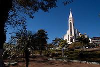 Sao Gotardo_MG, Brasil...Igreja Matriz de Sao Sebastiao em Sao Gotardo...Sao Sebastiao church in Sao Gotardo...Foto: MARCUS DESIMONI / NITRO