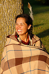 Native American Indian Lakota Sioux woman