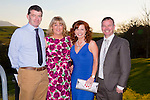 Enjoying the Austin Stacks social on Sunday night in Ballyroe were Denis and Carmelita Ryan and Fiona and Paul O'Connor