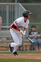 Illinois State Redbirds Ryan Koziol (2) during a game against the Bucknell Bison on March 8, 2015 at North Charlotte Regional Park in Port Charlotte, Florida.  Bucknell defeated Illinois State 13-8.  (Mike Janes Photography)