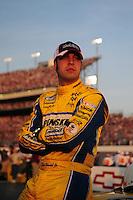 May 2, 2008; Richmond, VA, USA; NASCAR Nationwide Series driver Sam Hornish Jr during the Lipton Tea 250 at the Richmond International Raceway. Mandatory Credit: Mark J. Rebilas-