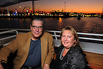 Greg and Cathy Hucker at the second annual Texas Children's Cancer Center Casino Night Cruise in Kemah Friday Oct. 08, 2010. (Dave Rossman/For the Chronicle)