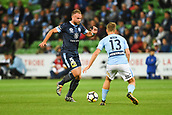 3rd November 2017, Melbourne Rectangular Stadium, Melbourne, Australia; A-League football, Melbourne City FC versus Sydney FC; Jordy Buijs of Sydney FC prepares to kick the ball