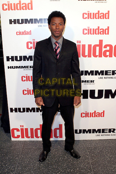 "JASON GRAHAM.""Tu Ciudad"" Magazine Launch Party held at the Roosevelt Hotel, Hollywood, California, USA,.24th May 2005..full length.Ref: ADM.www.capitalpictures.com.sales@capitalpictures.com.©Zach Lipp/AdMedia/Capital Pictures."