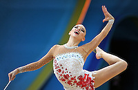 August 29, 2013 - Kiev, Ukraine - MELITINA STANIOUTA of Belarus performs at 2013 World Championships.