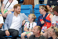 Prince Harry Duke Of Sussex Visits The Invictus UK Trials at the English Institute of Sport