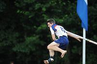 FIERLJEPPEN: GRIJPSKERK: 17-07-2013, 1e Klas wedstrijd, Senioren Topklasse, ©foto Martin de Jong