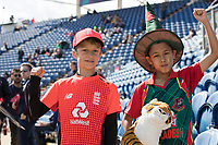 Young fans from England and Bangladesh during England vs Bangladesh, ICC World Cup Cricket at Sophia Gardens Cardiff on 8th June 2019